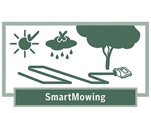 El robot Indego realiza un mapeado inteligente del jardín y vuelve a su base si detecta lluvia