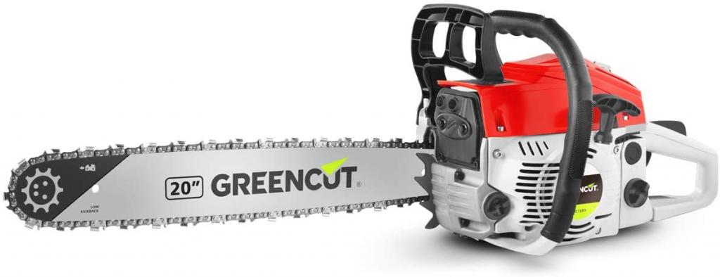 La motosierra más barata actualmente, la Greencut GS620X de gasolina