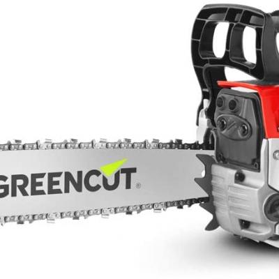 La motosierra barata actualmente, la Greencut GS620X de gasolina